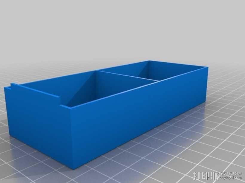 零部件收纳箱 3D模型  图3