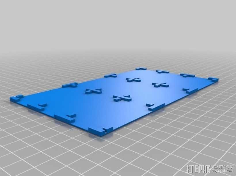 零部件收纳箱 3D模型  图2
