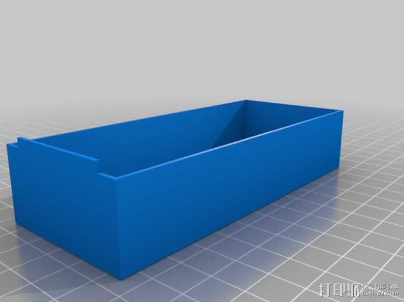 零部件收纳箱 3D模型  图4