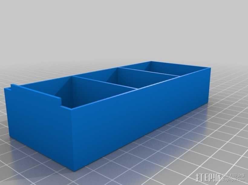 零部件收纳箱 3D模型  图5