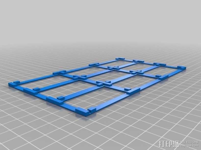 零部件收纳箱 3D模型  图6
