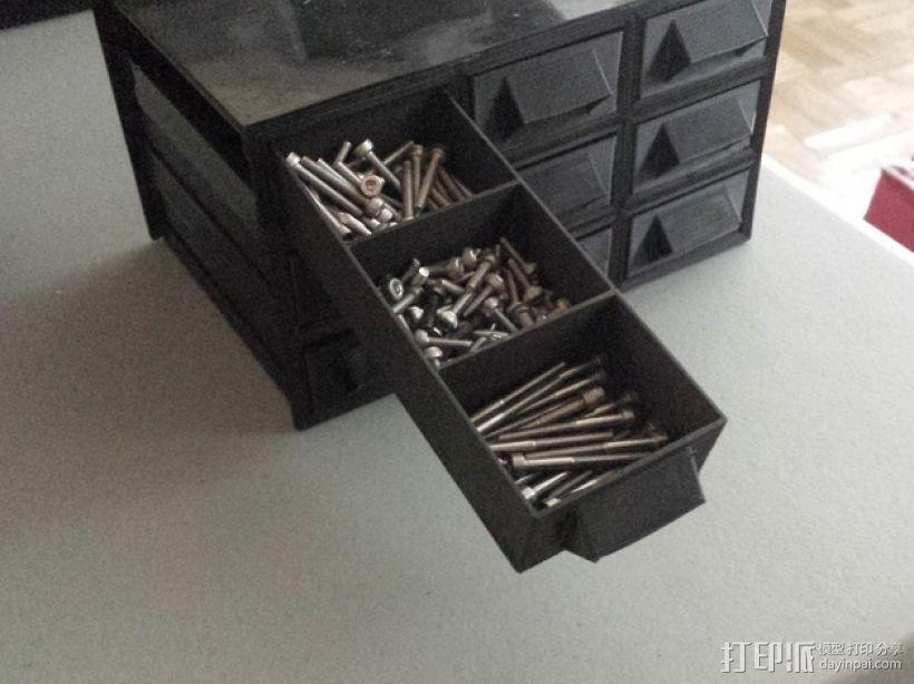 零部件收纳箱 3D模型  图10