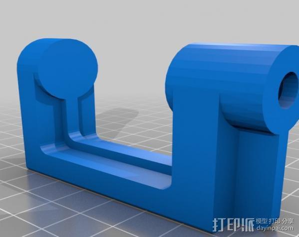 通用螺旋夹钳 3D模型  图3