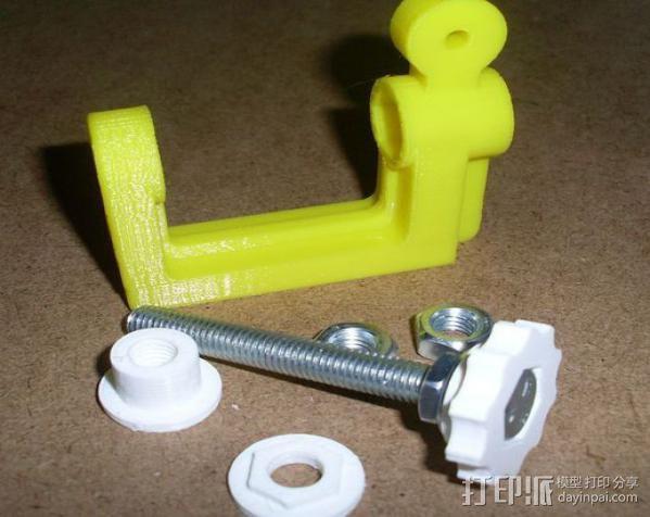 通用螺旋夹钳 3D模型  图4