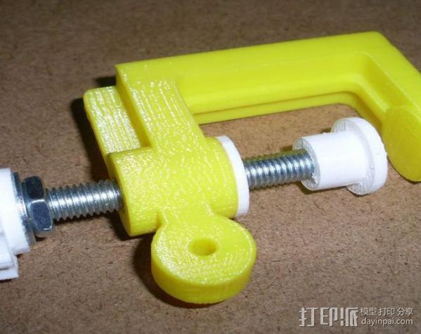 通用螺旋夹钳 3D模型  图7