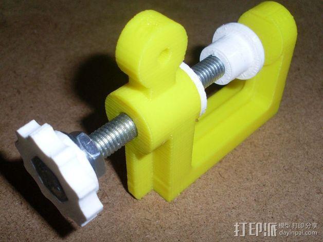 通用螺旋夹钳 3D模型  图8