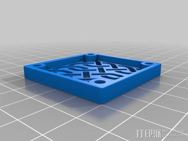 风扇罩 3D模型  图4