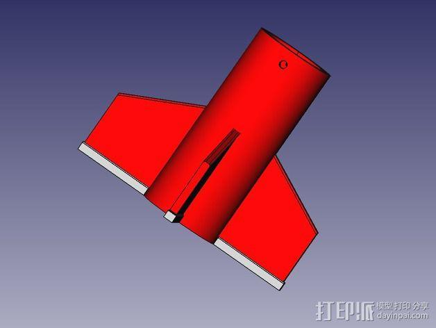 DIY火箭发射器  3D模型  图5