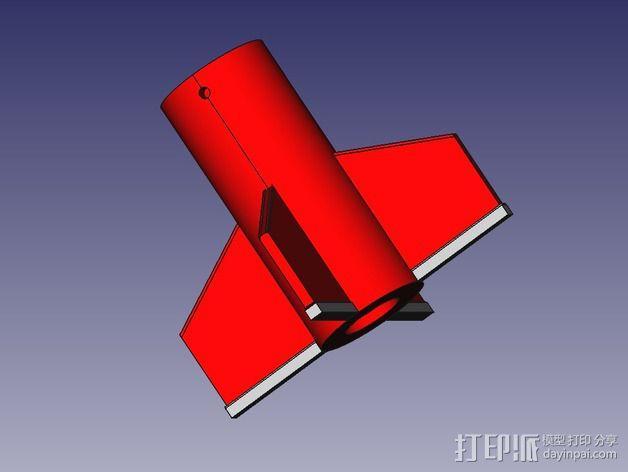 DIY火箭发射器  3D模型  图6