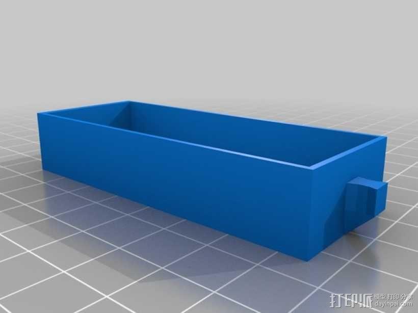 物品收纳柜 3D模型  图4