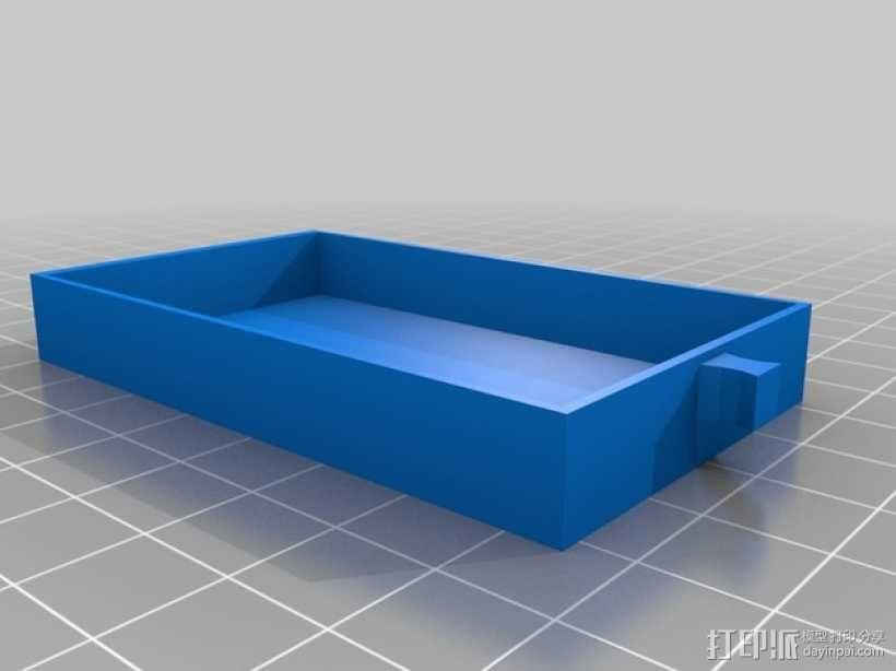 物品收纳柜 3D模型  图3