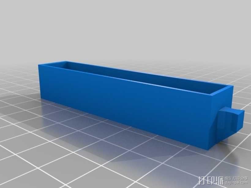 物品收纳柜 3D模型  图2