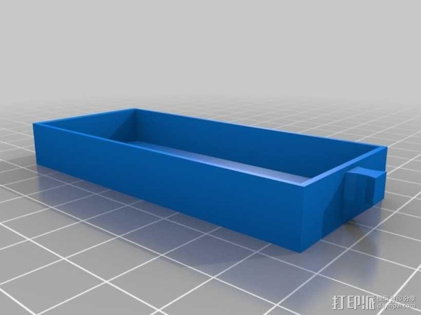 物品收纳柜 3D模型  图7