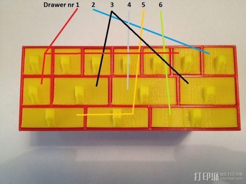 物品收纳柜 3D模型  图11