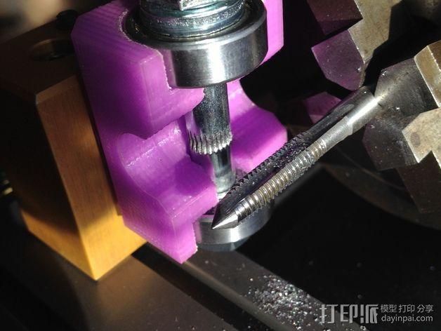 车床螺丝滚刀固定架 3D模型  图1