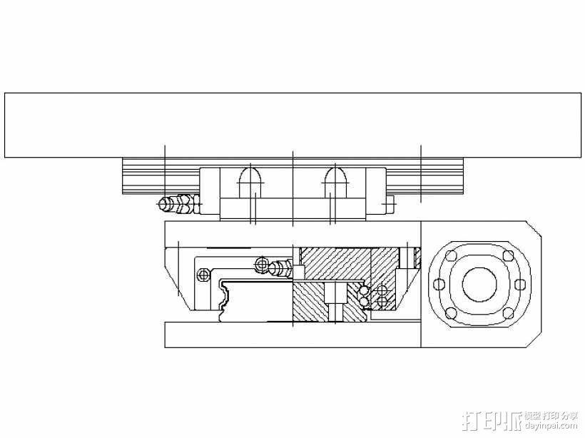 数控铣床  3D模型  图26
