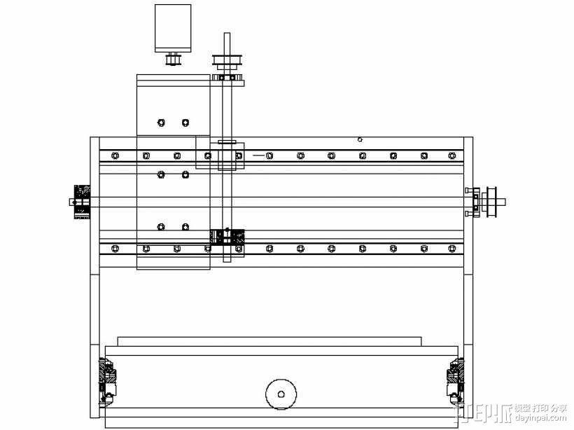 数控铣床  3D模型  图31