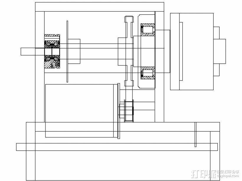 数控铣床  3D模型  图32