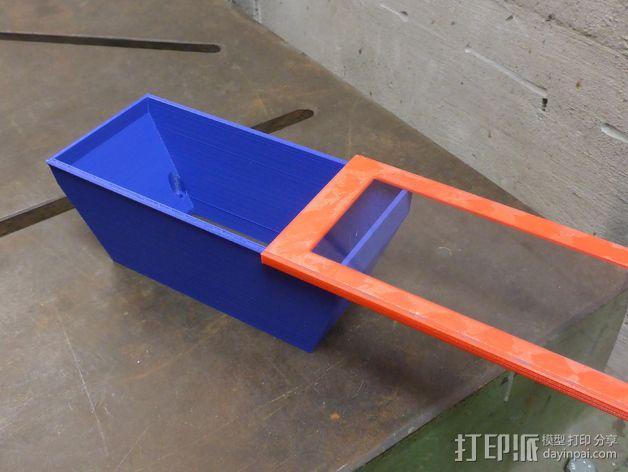 迷你碎纸机外壳 3D模型  图5