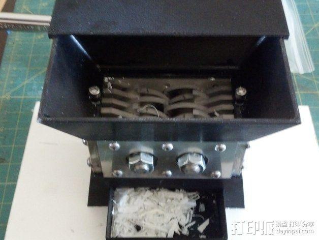 迷你碎纸机外壳 3D模型  图6