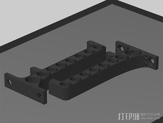 耳罩收纳架 3D模型  图4