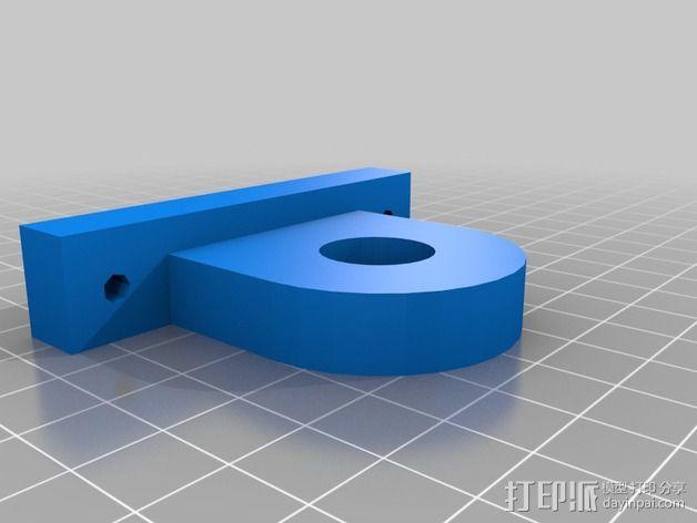 螺丝起子固定架 3D模型  图1