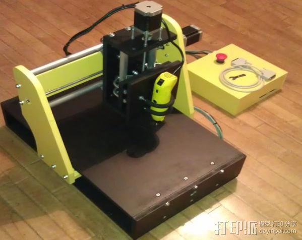 数控雕刻机 3D模型  图3