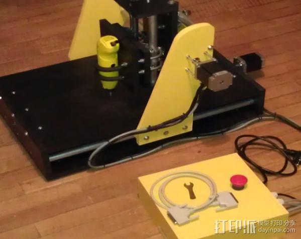 数控雕刻机 3D模型  图5