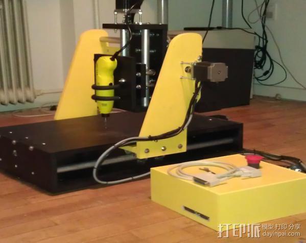 数控雕刻机 3D模型  图4