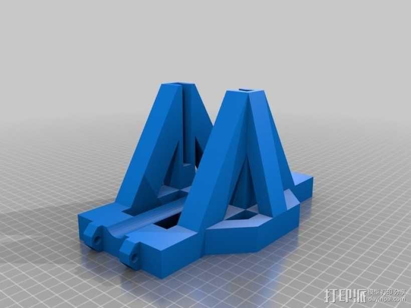 重力抛石机 3D模型  图4