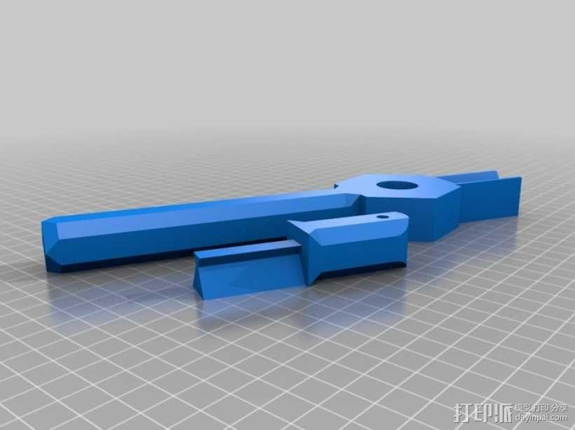 重力抛石机 3D模型  图3