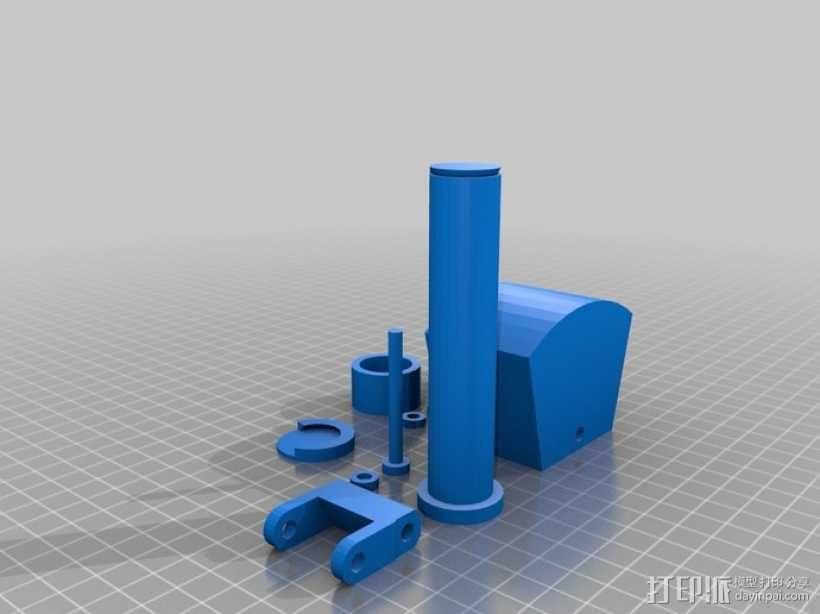 重力抛石机 3D模型  图6