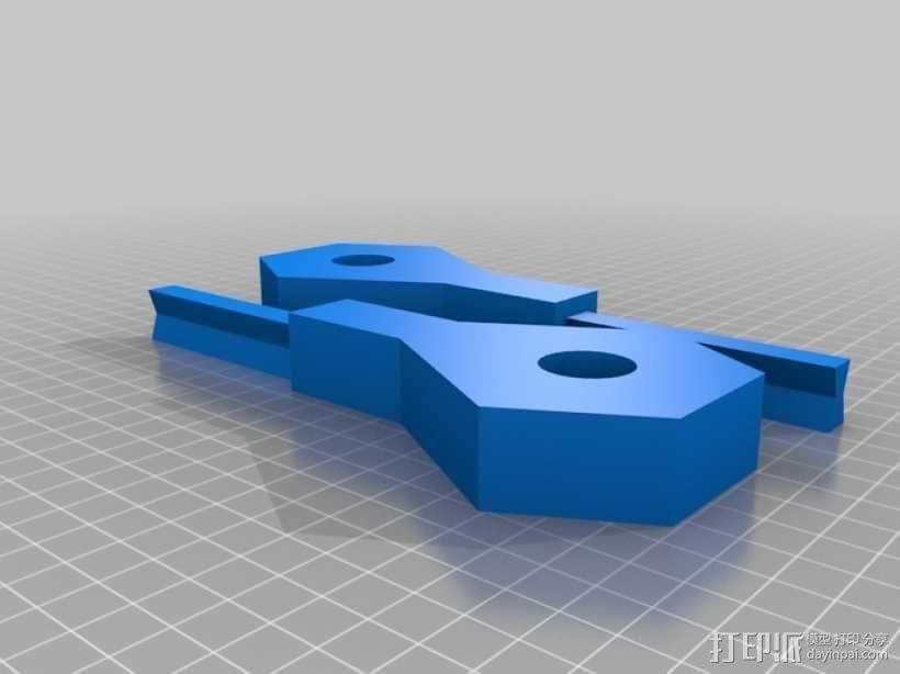 重力抛石机 3D模型  图5