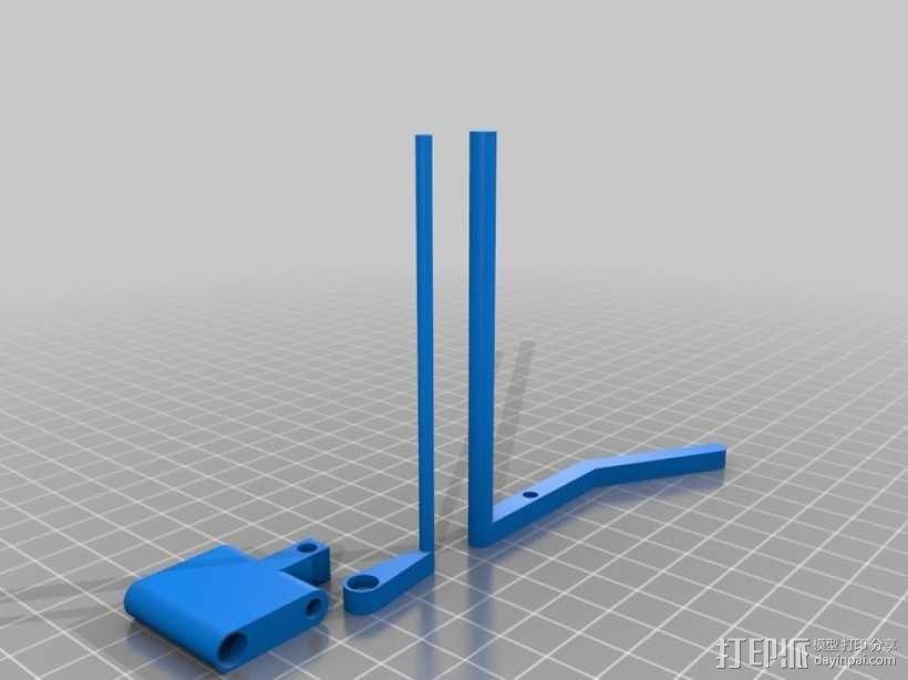 重力抛石机 3D模型  图7