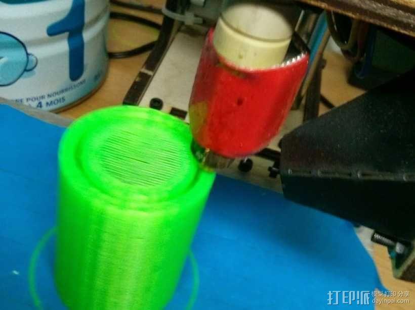 真空泵消音器 3D模型  图4