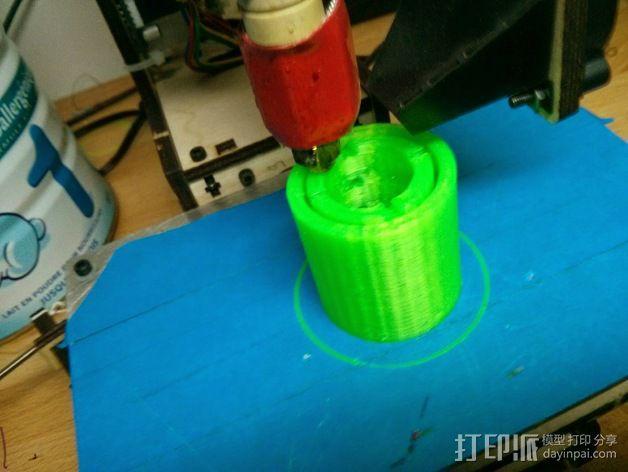 真空泵消音器 3D模型  图3