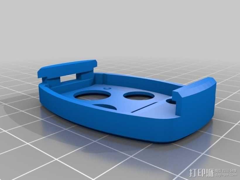 本田汽车钥匙外壳 3D模型  图2