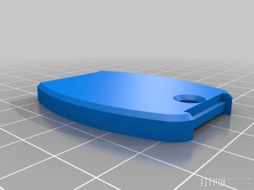 本田汽车钥匙外壳 3D模型  图5