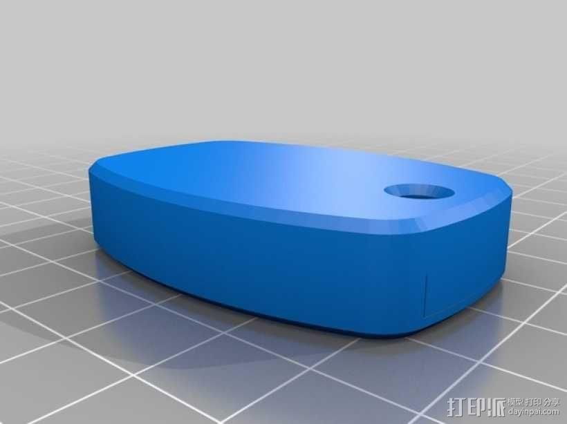 本田汽车钥匙外壳 3D模型  图6
