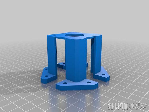 Nema 17步进电机保护套 3D模型  图2