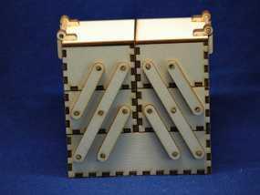 木质工具箱 3D模型
