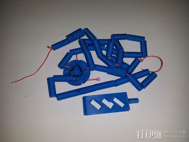 手机 三脚架 3D模型  图3