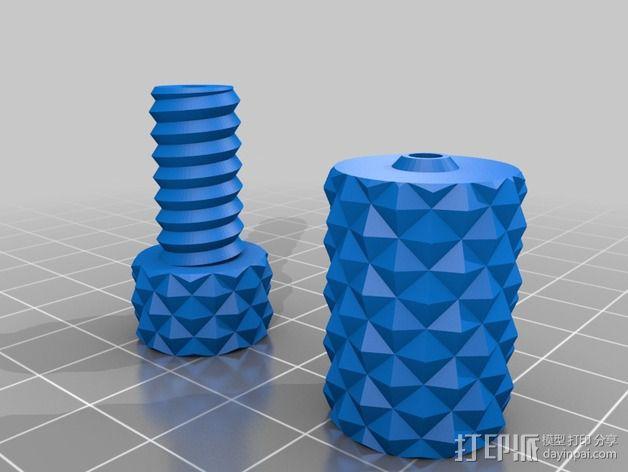 手机 三脚架 3D模型  图6