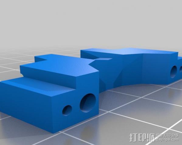 参数化爪形器具 3D模型  图3
