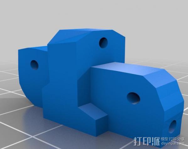 参数化爪形器具 3D模型  图9