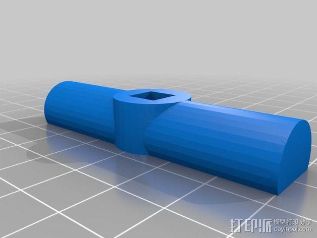 铰刀把手 3D模型  图3