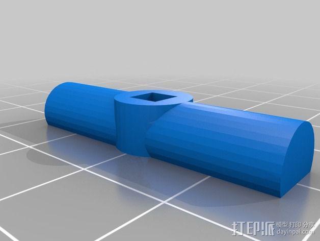 铰刀把手 3D模型  图5