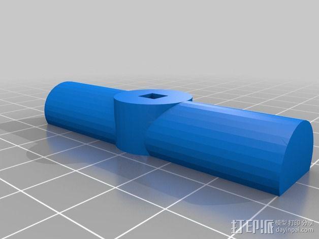 铰刀把手 3D模型  图4