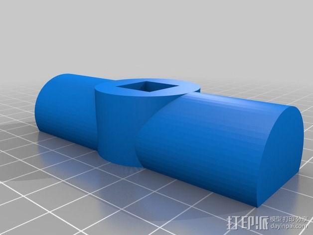 铰刀把手 3D模型  图8