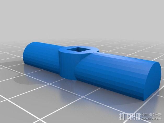 铰刀把手 3D模型  图6